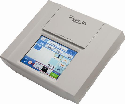 タッチパネル式高性能高抵抗率計 ハイレスターUX